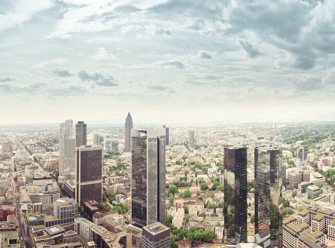 Logistics 4 Pharma - Compan - Location - Frankfurt; Skyline of Frankfurt