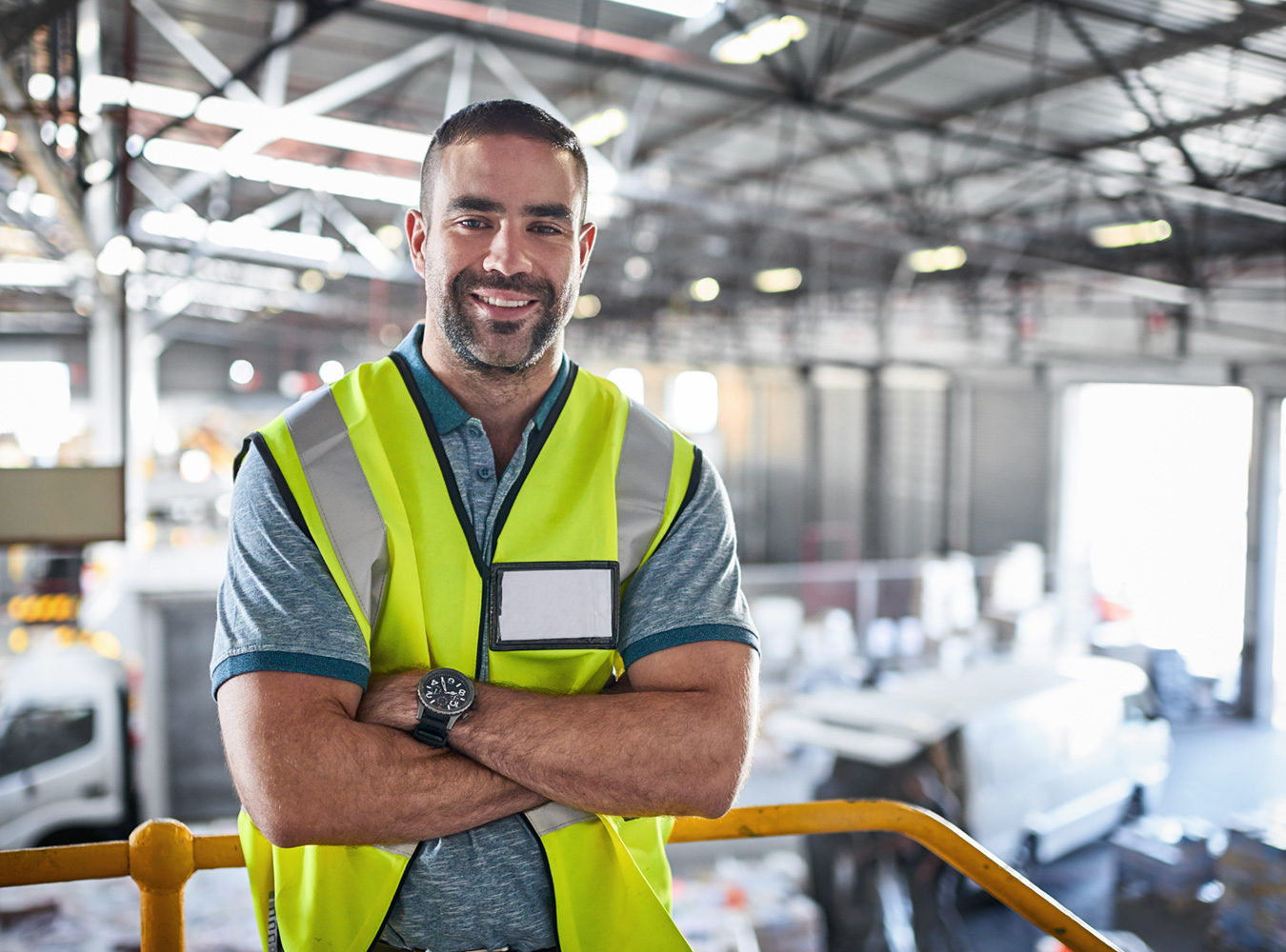 Logistics4Pharma - Company - Careers - Worker; worker in a storage hall