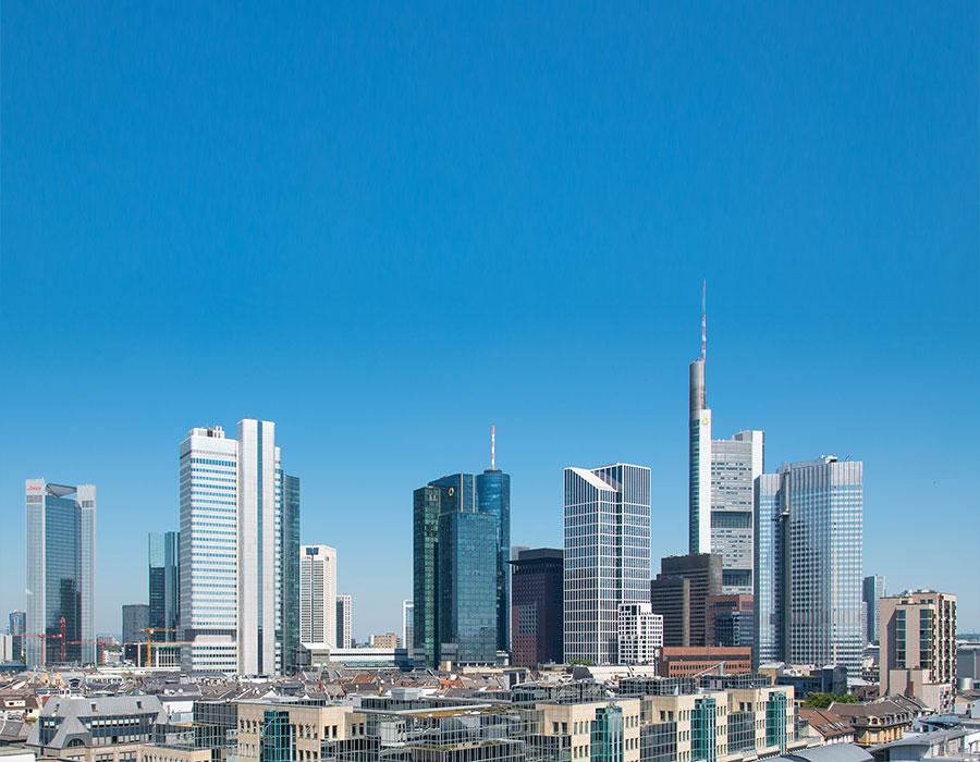Logistics 4 Pharma - Home - News - CPhI - Frankfurt; Skyline of Frankfurt; © Wikipedia Commons