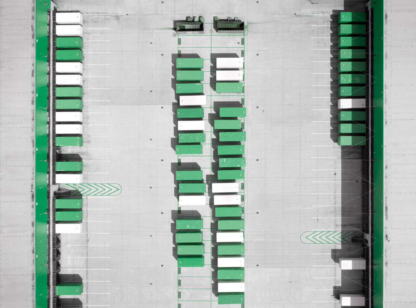 Logistics 4 Pharma - Expertise - Techology - Preview; storage from above