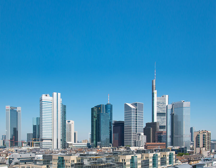 Logistics 4 Pharma - Home - News - CPhI - Frankfurt; Skyline of Frankfurt; © Wikipedia Commons