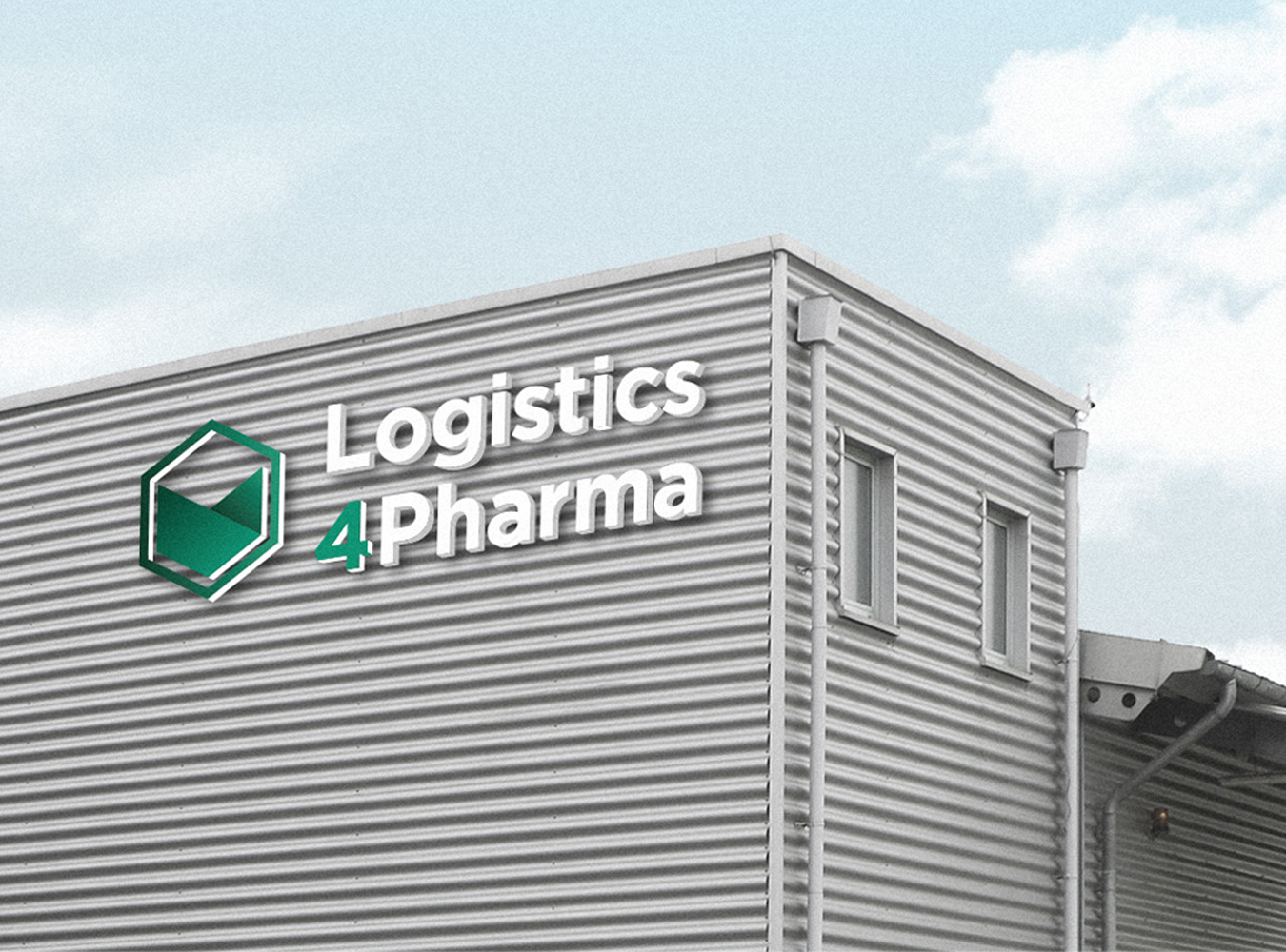 Logistics 4 Pharma - Home - Company - Preview; Logistics 4 Pharma building