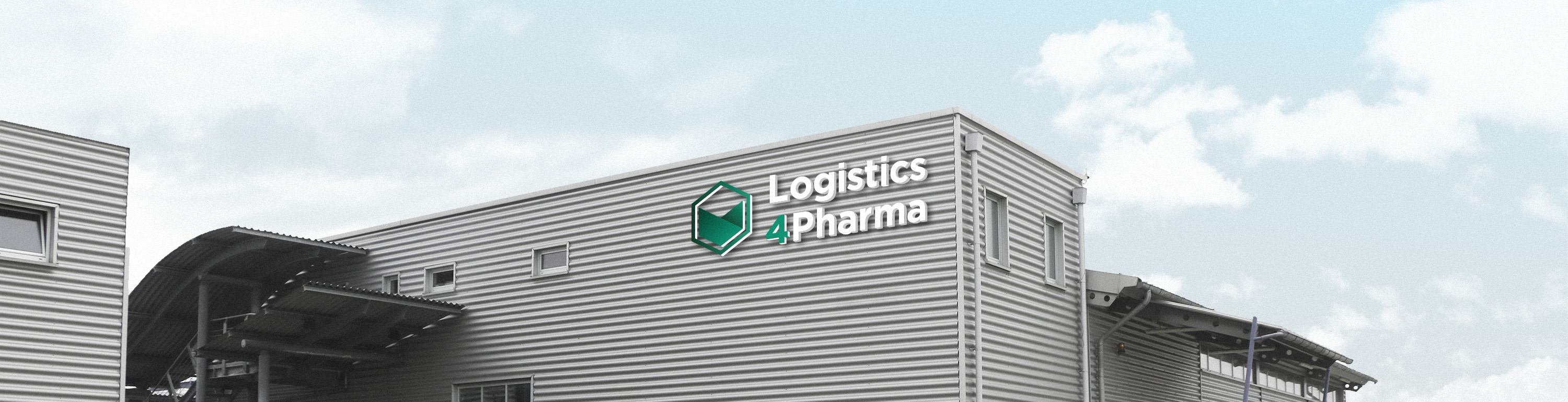 Logistics 4 Pharma - Home - Company; Logistics 4 Pharma building
